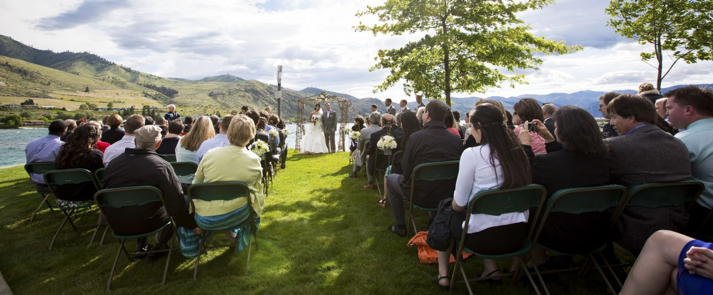 Lakeside Weddings at the Resort.
